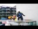 Приколы и неудачи на стройке! Падение тяжелой техники
