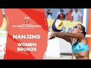 Nanjing - 2018 Beach Volleyball U19 World Championships - Women Bronze Medal Match
