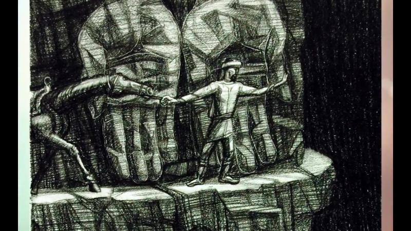 Художник Камиль Губайдуллин (город Ишимбай, проект «Любимые художники Башкирии»)