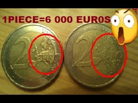 10 PIECES D'EUROS LES PLUS RARES ET RECHERCHES