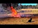 Первый новогодний подрыв ёлки НГ на РР - 2013 Разрушительное ранчо Перевод Zёбры