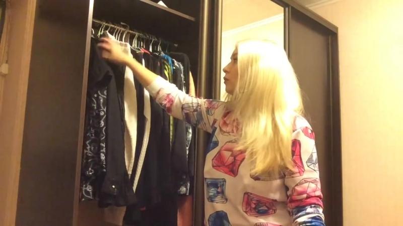 Организация хранения вещей! Мой шкаф и маленький секрет моей комнаты!