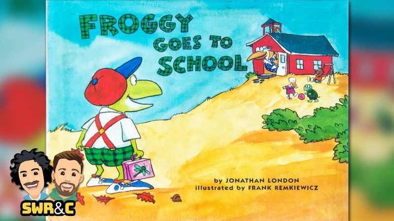 Froggy Goes To School by Jonathan London | CHILDRENS BOOK READ ALOUD