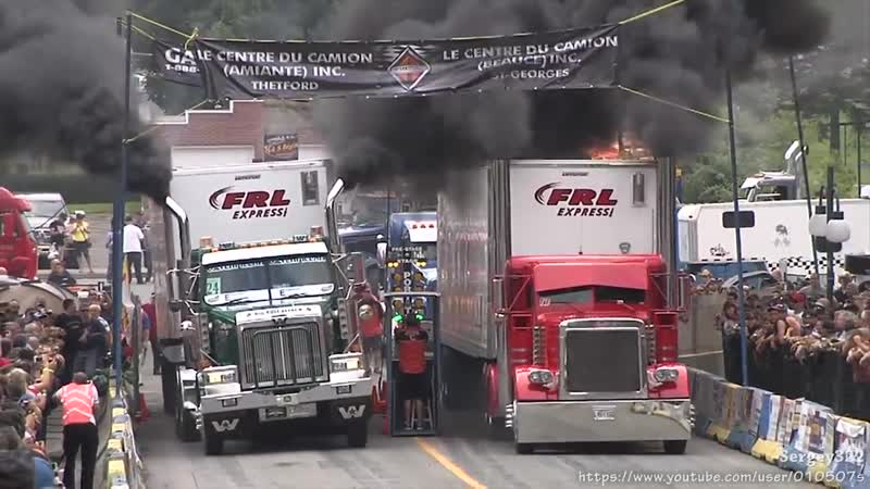 Trucks Drag Racing.