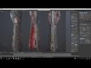 Blender modeling | Phantom Blade | Timelapse