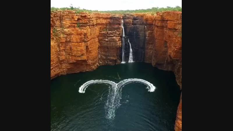 ♥️ Река King George в западной Австралии Можно оформить визу в Австралию в Ижевске Подробности по телефону 📍Ижевск Ленина 30