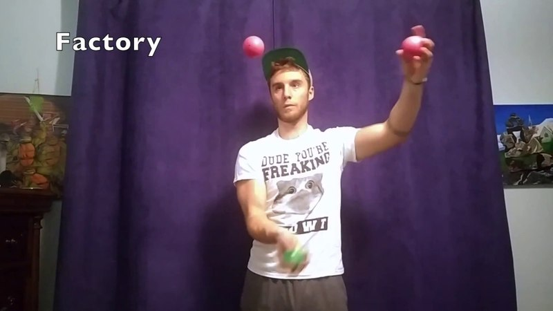 One Year Of Juggling (50 Beginner to Intermediate Juggling Tricks)