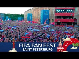 Fifa fan fest spb: гимн россии