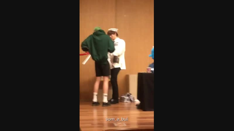 [FANCAM] 181007 Wooseok focus @ Dangsan TCC Art Hall