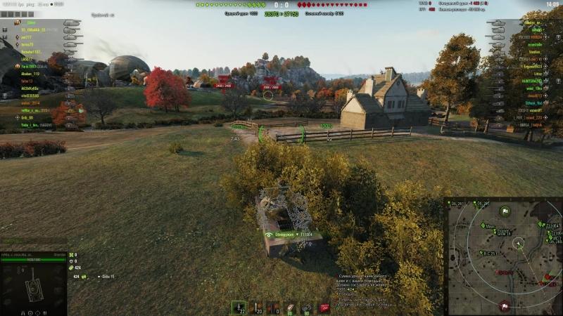 ЛТ-15 НА Т-55А Мастер агрессивной разведки ЛБЗ World of Tanks