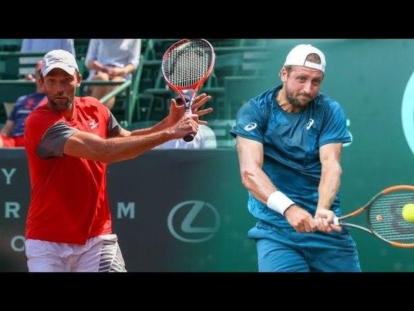 Ivo KARLOVIC vs Tennys SANDGREN Highlights HOUSTON 2018