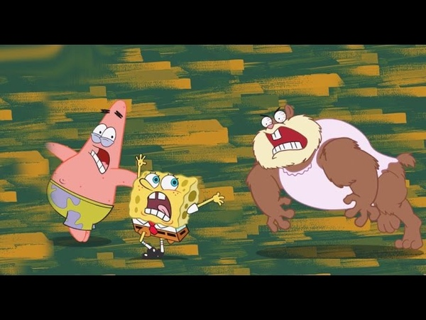 SpongeBob's Game Frenzy: Dont Wake Sandy ! - Nickelodeon Games