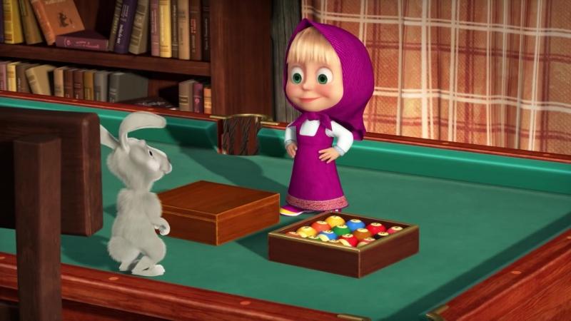 Маша и медведь Шарики и кубики серия 72 2018 Full HD 1080 мультфильм полностью смотреть онлайн бесплатно в хорошем качестве