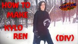 Make A Kylo Ren Costume From Star Wars! (DIY)