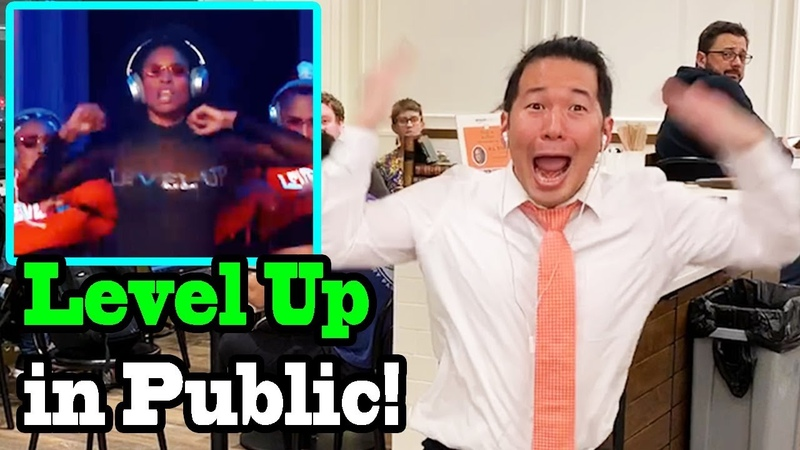 CIARA - Level Up - LEVEL UP CHALLENGE IN PUBLIC!!