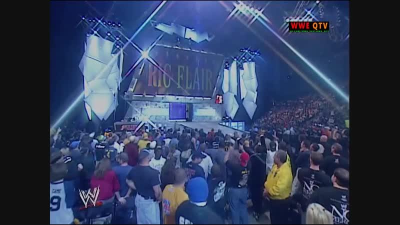 [WWE QTV]☆[WWE RAW[Фоменко]21.10.2002]Трипл ейч и Рик Флэр против Роб Ван Дама и Кейна]720]