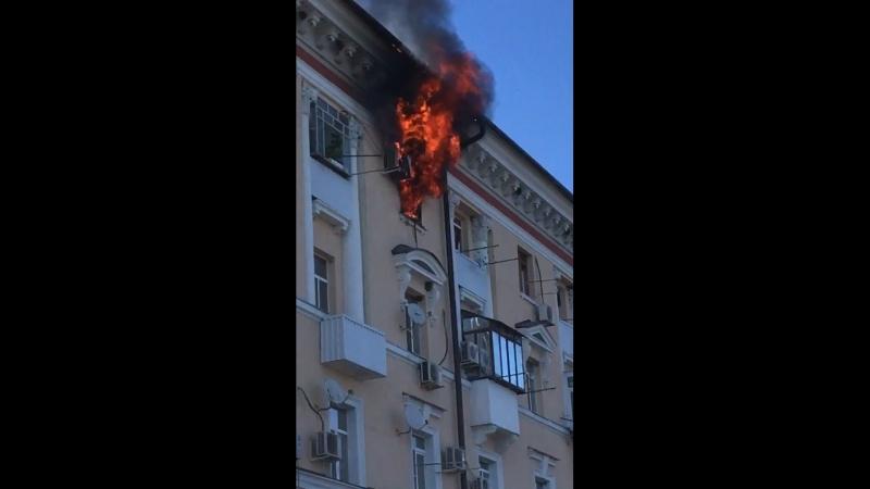 Пожар 1 я линия дом 60