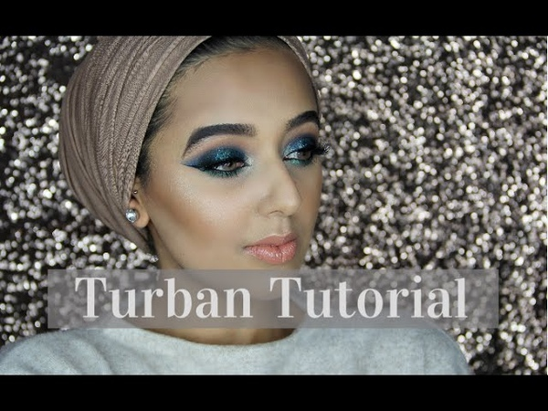 EASY SIMPLE TURBAN TUTORIAL - NO PINS! | Annam Ahmad
