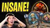 Most INSANE Hearthstone Game of my Life! Mecha'thun Dr. Boom Boomsday Project Best Deck