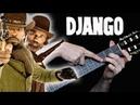 Джанго освобождённый на Гитаре Разбор