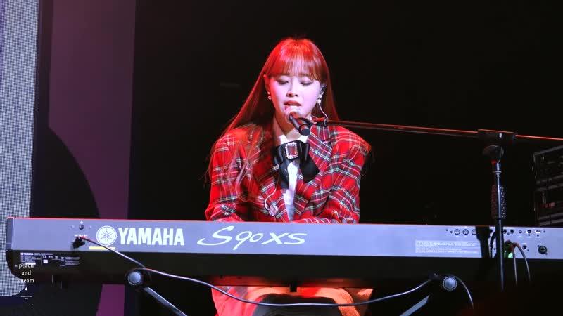 [FANCAM] 181125 Chuu (yyxy) – 그XX (G-DRAGON) @ LOONA STUDIO