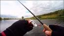 Блесна.. Или воблер Ловля щуки. Рыбалка осенью на малой реке.