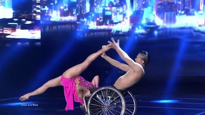 The best wheelchair act ever - Julius jun obero - Rhea Marquez