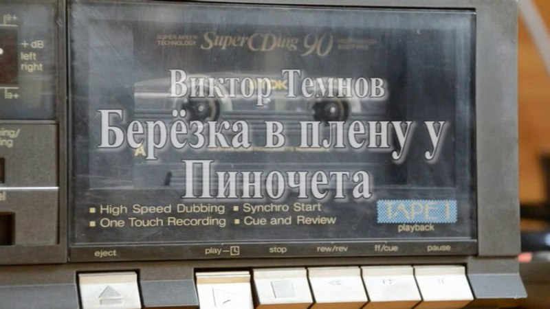Виктор Темнов Берёзка в плену у Пиночета