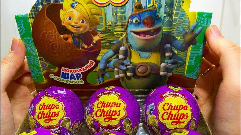 Алиса знает что делать Шоколадные шары Чупа Чупс Приключения Алисы Селезневой