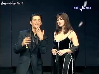 Эрос Рамазотти и Моника Белуччи