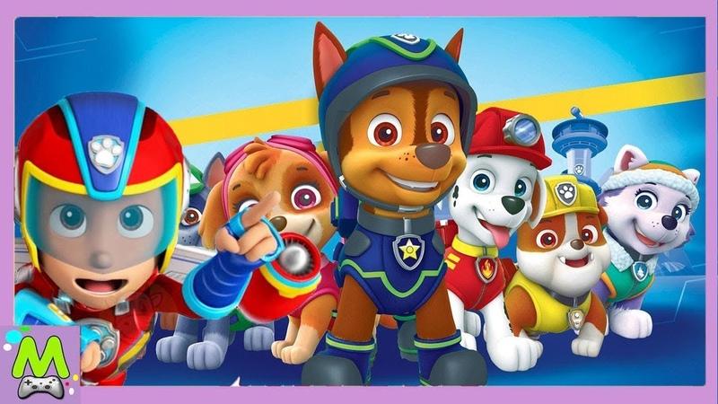 Щенячий Патруль Сборник Лучших ИгрPaw Patrol Mighty Pups.Щенки Спешат на Помощь.Игры для Детей