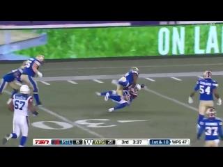 Johnny Manziel Highlights from his 3rd CFL start