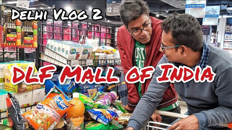 DLF Mall of India Delhi Vlog 2 || Торговый Центр в Дели || Indian in Russia
