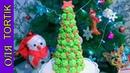 Новогодняя ЁЛКА из безе Как приготовить ЁЛКУ из безе Meringue Christmas tree Olya Tortik