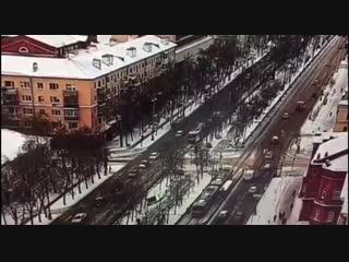 ДТП с автобусом на Ленина