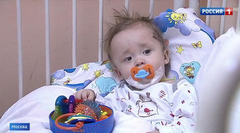 Вести.Ru: Выживший в Магнитогорске Ваня Фокин может встретить свой первый день рождения уже дома