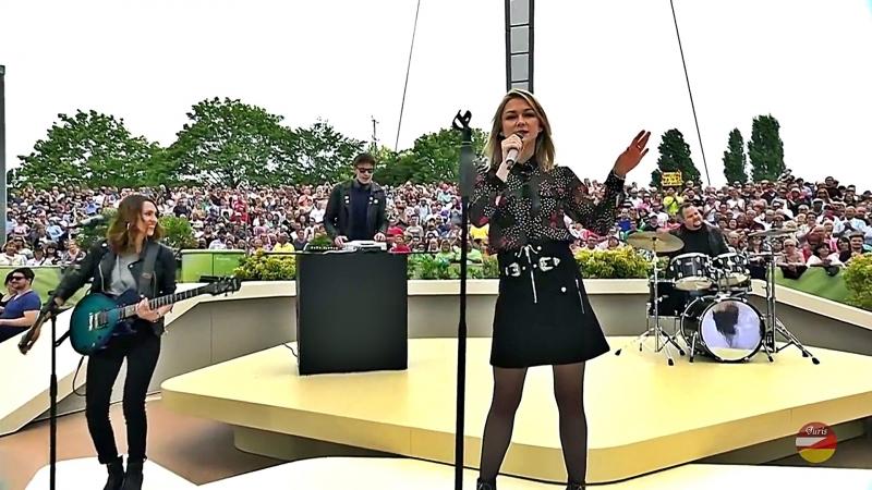 Linda Hesse «Mach ma laut» ZDF-Fernsehgarten 20.05.2018