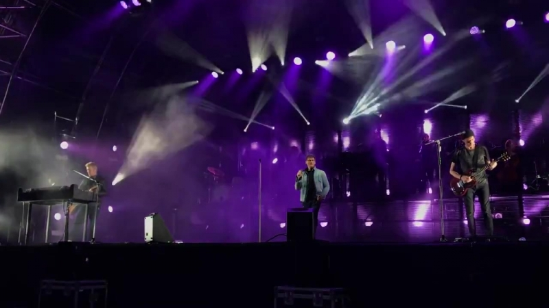 Scoundrel Days -by a-ha at Blackpool (Electric Summer Tour 2018)