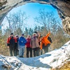 4 января, Серпиевские и Идрисовская пещеры