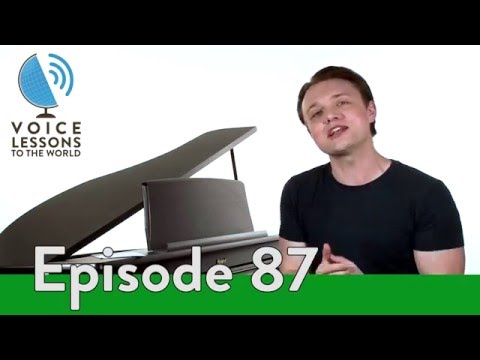 Ep. 87 How To Sing Head Voice - Vocal Register World Tour 2