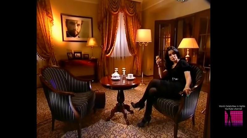 Тина Канделаки в колготках | Tina Kandelaki tights