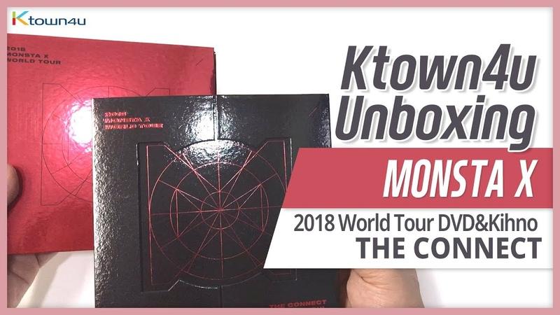 Unboxing MONSTA X 2018 WORLD TOUR THE CONNECT DVD Kihno Video 몬스타엑스 언박싱 モンスターエックス KPOP Ktown4u