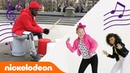 JoJo Siwa, Lizzy Greene More Dance to the Nick Theme 🎵Bucket Drum Style! MusicMonday