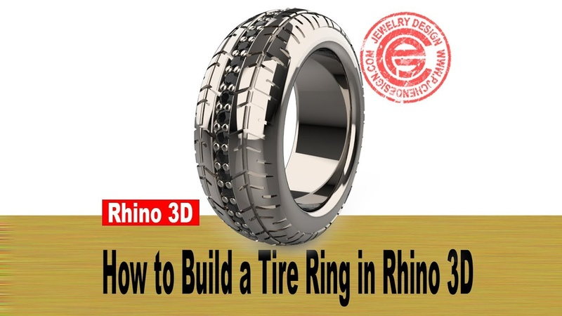 Mens Tire Ring 3D Modeling in Rhino 6 (2018)- Jewelry CAD Design Tutorial 37