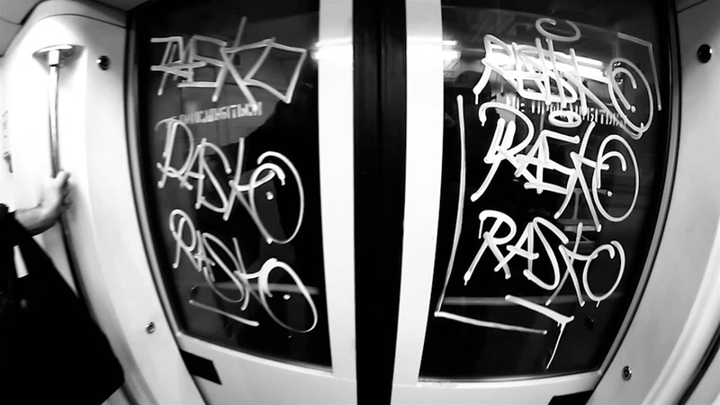 Rasko street video Graffiti from Russia