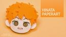 Eng Sub SONGJIN PAPERART 하이큐 히나타 페이퍼아트 HQ Hinata paperart