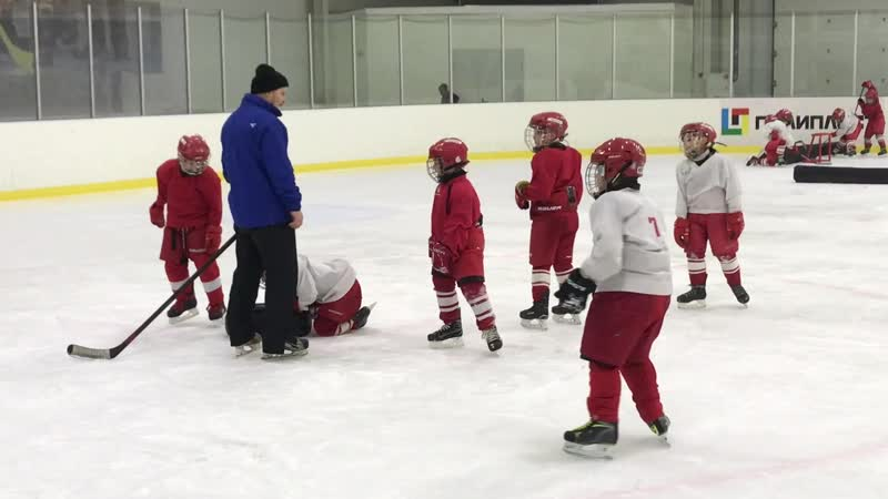 Семинар New Hockey Academy день первый