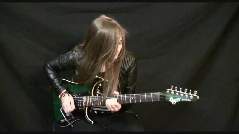 Top 5 Guitar Covers (SARGE994ROCK, Juliana Vieira, Tina S, Laura cox, crea1337 Diezo1)