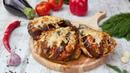 Как запечь баклажаны с курицей и овощами - Рецепты от Со Вкусом