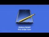 Официальный промо-ролик Samsung Galaxy Note 9 до презентации